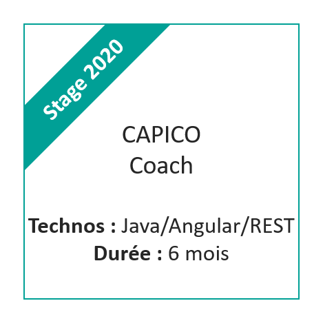 Stage Capico Coach 2020