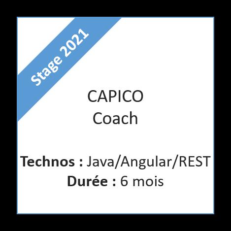 Stage Capico Coach - 2021